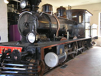 2-6-0 - Finnish class Sk1 No 124, built 1885 by SLM, at the Finnish Railway Museum