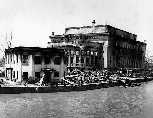 Fire damage to the Manila Post Office 1945 Fire Damage to the Manila Post Office 1945.jpg
