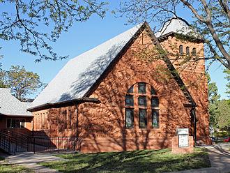 First Congregational Church (Pueblo, Colorado) - Image: First Congregational Church ( Pueblo, Colorado)