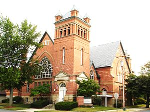 Marysville, Ohio - First United Methodist Church, Uptown