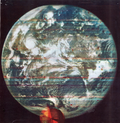 First color image of the earth from outer space (Dodge Satellite).png
