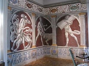 Pietro Ricchi - Image: Fléchères antichambre Hercule