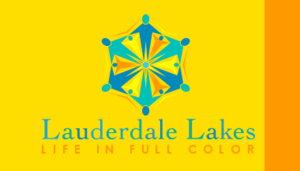 Lauderdale Lakes, Florida - Image: Flag of Lauderdale Lakes, Florida
