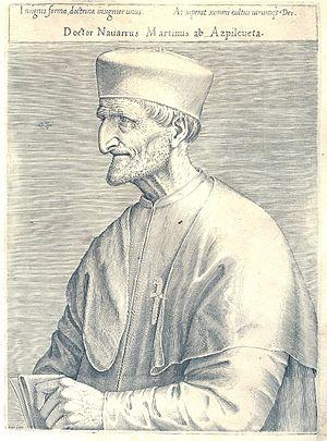 Martín de Azpilcueta - Martín de Azpilicueta