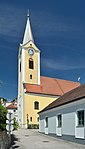 Chapel, former parish church hll.  Florian and Maximilian