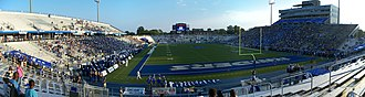 "Johnny ""Red"" Floyd Stadium - Image: Floyd Stadium panoramic"