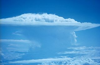 Cumulonimbus cloud genus of clouds, dense towering vertical cloud associated with thunderstorms and atmospheric instability