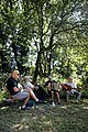Folk musicians at Copsale Hall, Nuthurst, West Sussex, England 06.jpg