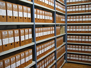 Archive institution responsible for storing, preserving, describing, and providing access to historical records