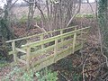 Footbridge on the path to Detton Hall - geograph.org.uk - 1065421.jpg
