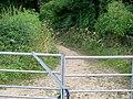 Footpath crosses bridleway (2) - geograph.org.uk - 1988177.jpg