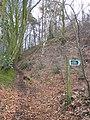 Footpath junction, Blackborough - geograph.org.uk - 1775963.jpg