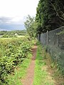 Footpath to Frodsham Golf Course - geograph.org.uk - 1388474.jpg