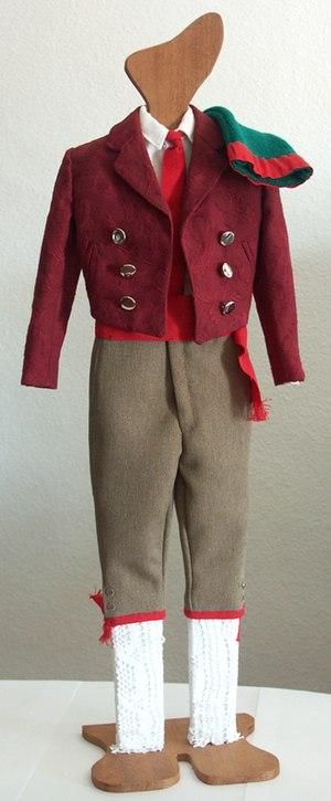 Forcado - Traditional forcado costume.