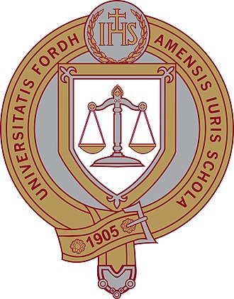 Fordham University School of Law - Seal of Fordham University School of Law
