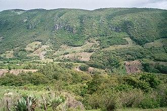 Celaque National Park - Forest fragmentation on Celaque's slopes