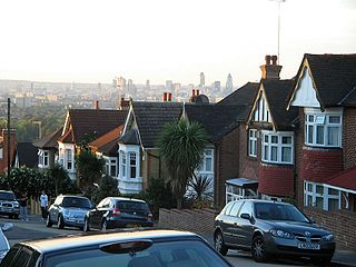 London from Forest Hill
