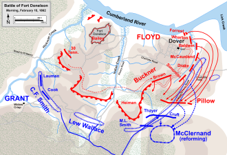 Battle of Fort Donelson Wikipedia