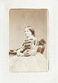 Fotografiporträtt på Fredrika Schlegel, 1800-talets mitt - Hallwylska museet - 107601.tif