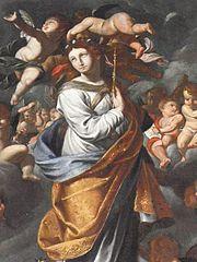 gloire d'une sainte