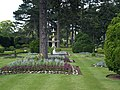 Fountain in formal garden at Brodsworth Hall. - geograph.org.uk - 507847.jpg