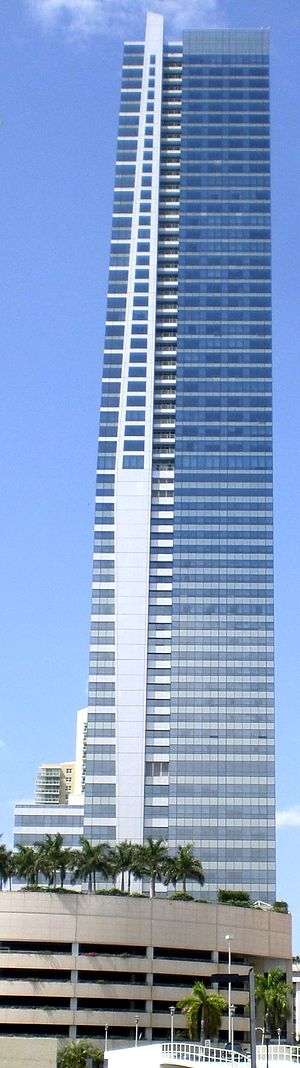 Four Seasons Hotel Miami - Image: Four Seasons Tower Miami east