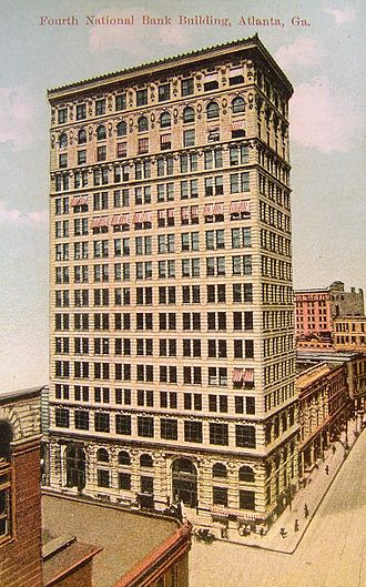 Morgan & Dillon - Fourth National Bank building, about 1908