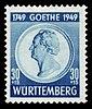 Fr. Zone Württemberg 1949 46 Johann Wolfgang von Goethe.jpg