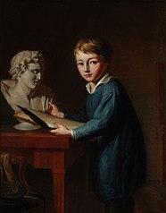 Portret van Charles Rochussen op 11-jarige leeftijd