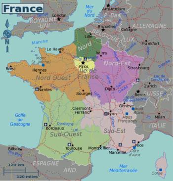 La France Avec Les Ville