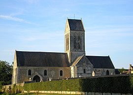 The church in Tilly-sur-Seulles