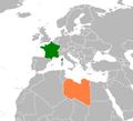 France Libya Locator.png