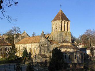 Melle, Deux-Sèvres - Saint-Hilaire Church