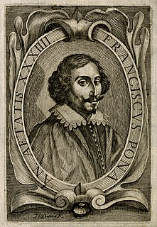 Francesco Pona Italian doctor, philosopher and writer (1595-1655)