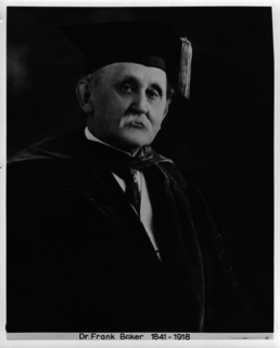 Frank Baker (physician) American physician and superintendent of the U.S. National Zoo
