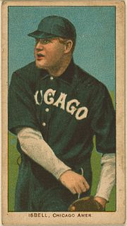 Frank Isbell American baseball player