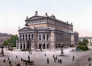 Richard Lucae - Alte Oper, Frankfurt