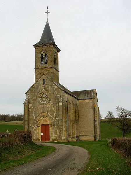 Frasnay-Reugny, église, façade ouest
