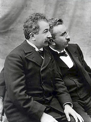 History of film - Brothers Auguste and Louis Lumière