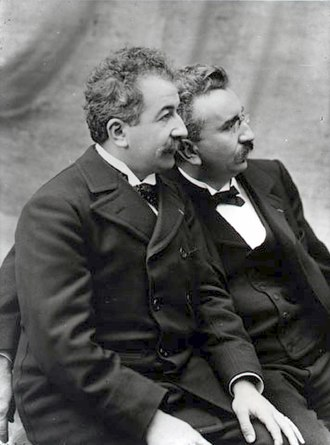 La Martiniere College - Auguste (left) and Louis Lumière.