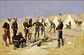 Frederic Remington - Roasting the Christmas Beef in a Cavalry Camp - 1972.55 - Yale University Art Gallery.jpg