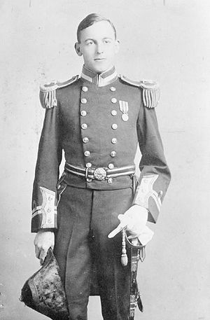 Frederick Thornton Peters - Lieutenant Frederic Peters c.1910s