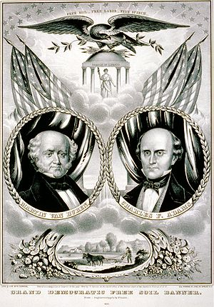 United States presidential election, 1848 - Van Buren/Adams