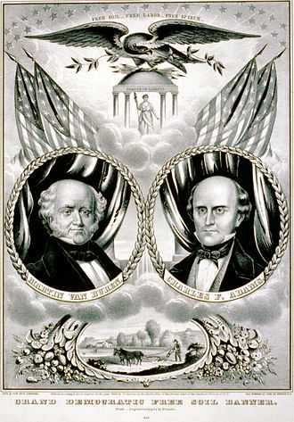1848 United States presidential election - Van Buren/Adams
