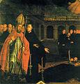 Frei Ricardo do Pilar, Morte de São Jócio, Mosteiro de São Bento.jpg