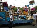 Fremont Solstice Parade 2008 - samba wagon 02.jpg
