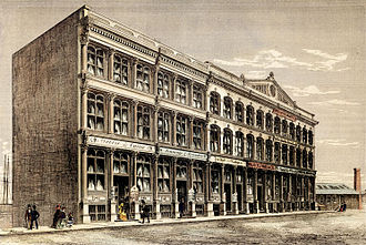 Dominion Public Building - Image: Front Street West, looking west from Yonge Street