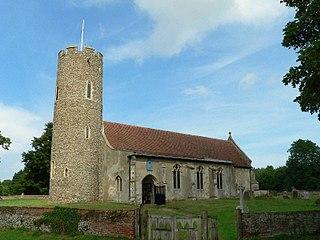 Frostenden Human settlement in England