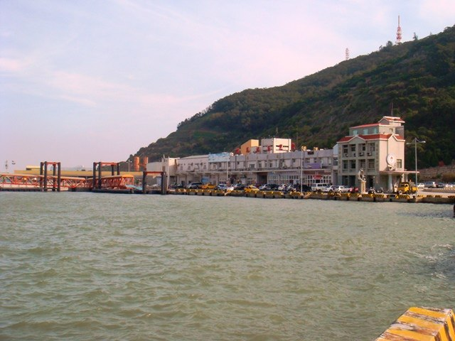 Fuao Harbor, Nangan, Matsu, Taiwan