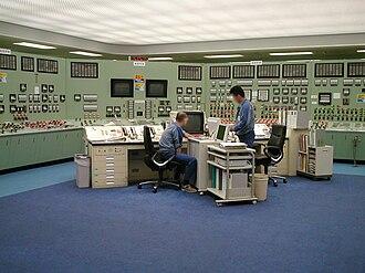 Fukushima Daiichi nuclear disaster - The Fukushima reactor control room in 1999